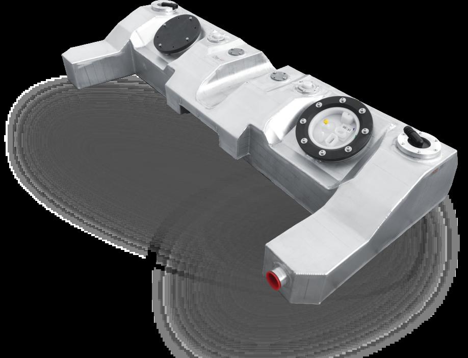 Sportwagen Motorsport Kraftstofftank