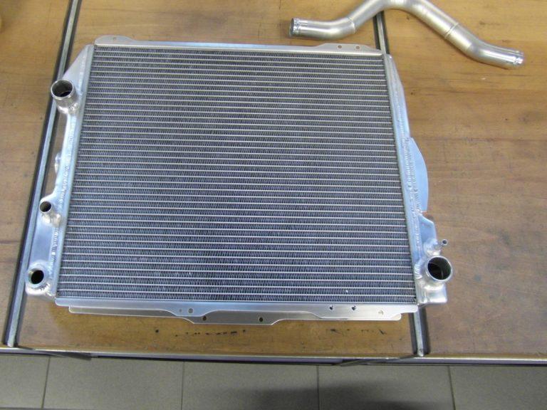 Aluminium Kühler Auto Einzelanfertigung