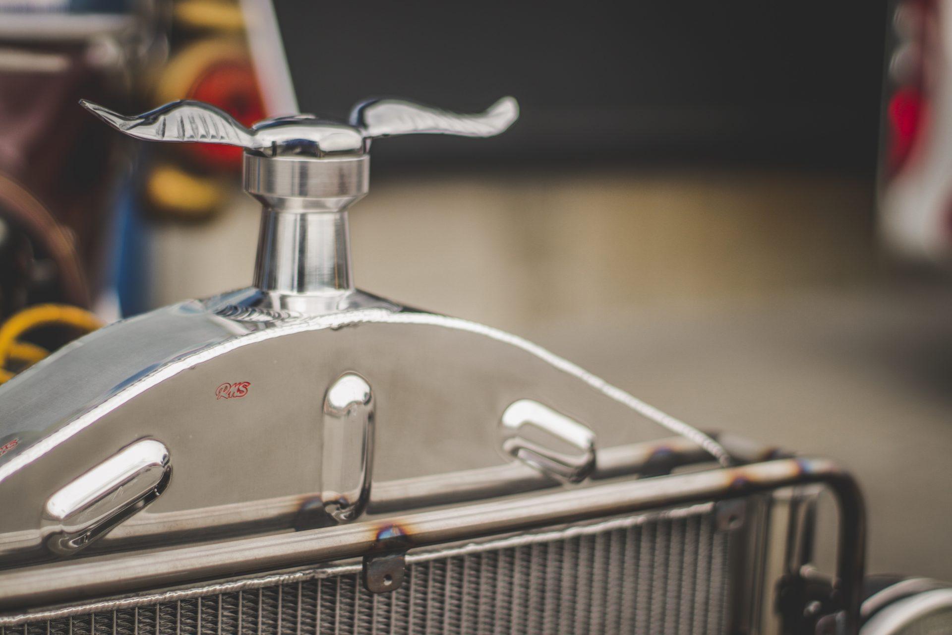 Ansicht oben Kühler Ford T Modell
